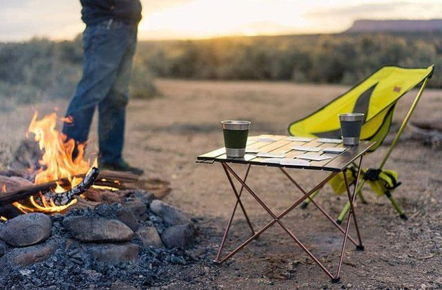 Mesas de camping