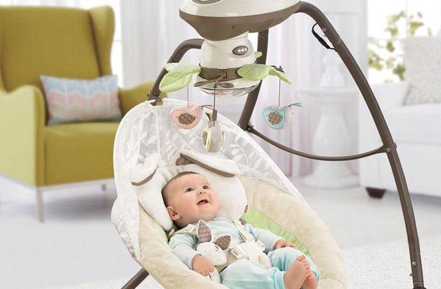 Los mejores columpios para bebés