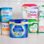 Las mejores leches de fórmulas para bebés